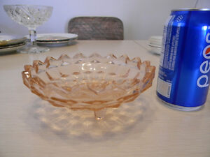 assorted vintage candy dishes