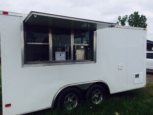 Chip Truck and Grilling Food Concession Trailer Excellent Cond