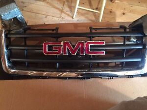 Truck front grille