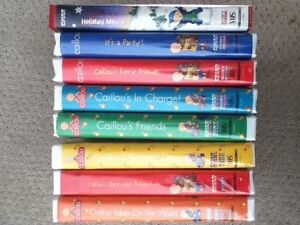 Caillou VHS Movies
