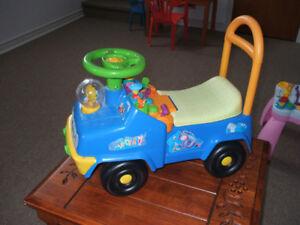 camion trottinette pour enfant 15$