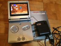 Game Boy Advance SP AGS-101 (best screen) + jeux