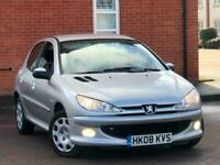 2008 Peugeot 206 1.4 Look 5dr SERVICE HISTORY 1F KEEPER SINCE 2009