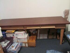Large Desk Sewing Table Crafts, Drafting Custom Made
