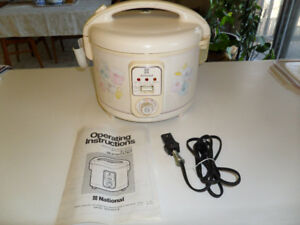 NATIONAL RICE & CONGEE COOKER/WARMER