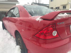 2005 Honda Civic coupe  5 speed
