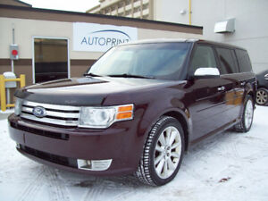 "2011 FORD FLEX LIMITED ""ECOBOOST"" AWD! One Owner! Fully loaded!"