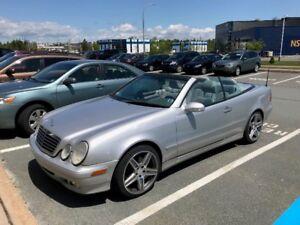 2002 Mercedes CLK 320 CONVERTIBLE 170km $5000.00