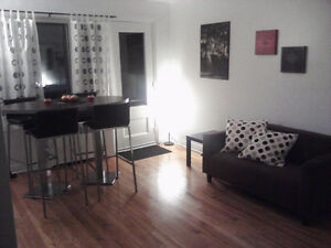 NDG on COTE ST-LUC ROAD - facing Hampstead = $630 (3 1/2)