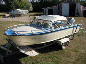 1976 Starcraft 16ft Super Sport with 1976 Evinrude 115hp