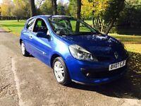 2007 Renault Clio 1.4 Dynamique 3 Dr Blue Metallic