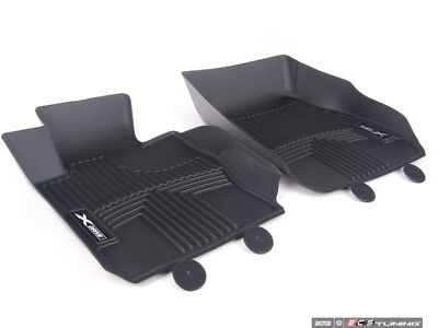 82112317872 OEM BMW ALL WEATHER FLOOR LINERS FRONT F30 3 SERIES XDRIVE