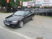 2005 55 VAUXHALL ASTRA 1.8 EXCLUSIVE 16V 2 DOOR 125 BHP