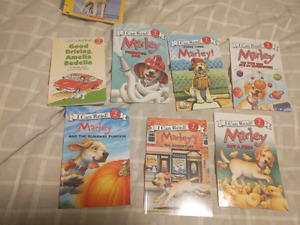 marley Learn to read books set: like new
