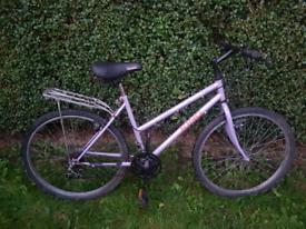 Ladies mountain king geared bike bicycle