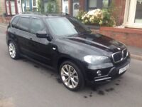 2008 57reg BMW X5 3.0 Turbo Diesel Black Good Runner Cheapest New shape around