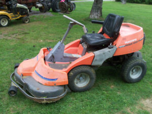 2 riding mowers ready too cut (trade)