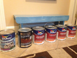 Grey Floor Paint and white exterior paint - Pick up Only