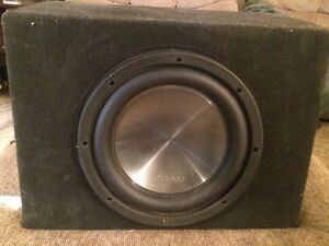 Amp and sub for sale