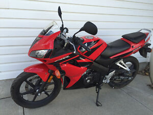 CBR125R Barely used