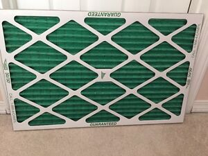 """16""""x25""""x1"""" PLEATED FURNACE FILTER"""