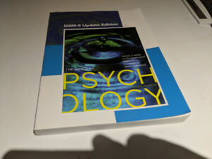 The World of Psychology DSM5 Update Edition 7th Canadian Edition