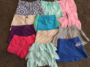 Girls Shorts, Skorts/Skirt