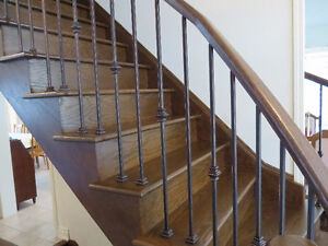 IRON PICKETS + STAIR RAILINGS + BALUSTERS