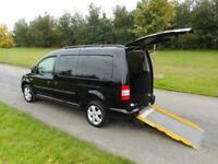 2012 Volkswagen Caddy Maxi Life 1.6TDI, Manual. WHEELCHAIR ACCESSIBLE WAV