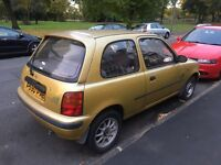 Nissan micra 1.0 runs and drives