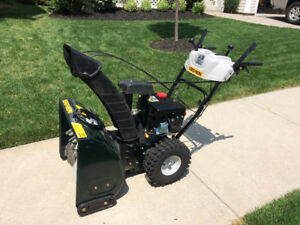Brand new - never been used Yard-man Two-Stage Snow Thrower