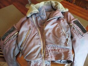 1960's RCAF MILITARY Flying Jacket