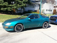 """Mazda MX-3 GS V6 Coupe (2 door) 18"""" Low Profile Tires and Rims"""