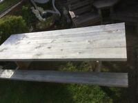 Garden table /bench