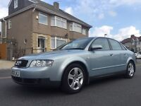 2003 AUDI A4 SPORT TDI DIESEL SALOON LOVELY CAR FULL HOSTORY!!