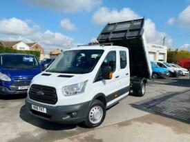2016 Ford Transit 2.2 TDCi 125ps Double Cab Tipper (DRW) CHASSIS CAB Diesel Manu