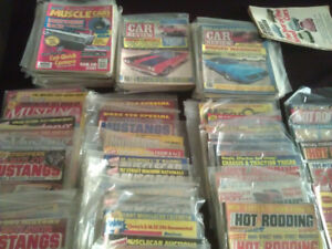 Vintage Muscle Car Magazines
