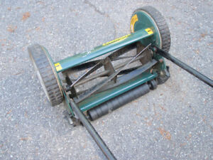 Tondeuse a rouleau / reel mower