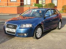 2006 Audi A3 1.6 Special Edition Sportback NEW SHAPE 5 DOOR 1600 PETROL