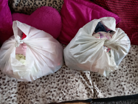 1 bag of 12_18 and 18_24 months girls clothes