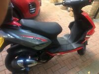 *** SOLD *** Generic Race 125 scooter