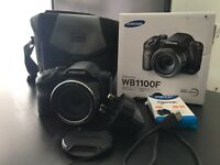FOR SALE - almost NEW - Samsung WB1100F Digital Camera CCD 16.2MP 35x WiFi HD Video F!!!