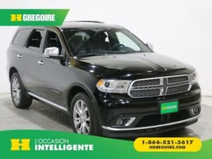 2017 Dodge Durango Citadel Platinum AWD MAGS BLUETOOTH CUIR CAME