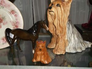 Beswick Terriers and Horse