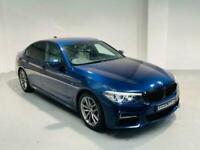BMW 5 SERIES 2.0 520D M SPORT AUTO 2018 4 DOOR BLUE DIESEL SALOON
