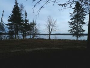 Beautiful 1 acre waterfront lot on Kennebecasis River