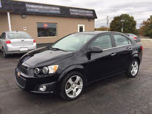 2012 Chevrolet Sonic LT CLEAN  ONLY 70KM!!