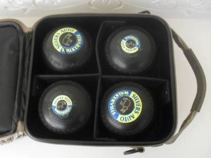 Drakes Pride Lawn Bowls Size 4H in carry bag Modbury Heights Tea Tree Gully Area Preview