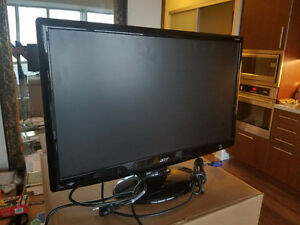 """24"""" ACER monitor with HDMI - Model H243H"""
