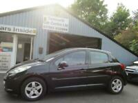 2009 Peugeot 207 5 DOOR 1.4 Verve 1.4 Hatchback Petrol Manual
